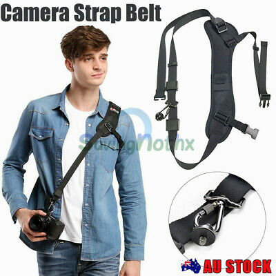 Quick Rapid Camera Soft Sling Strap Shoulder Belt Adjustable Neck Strap DSLR SLR