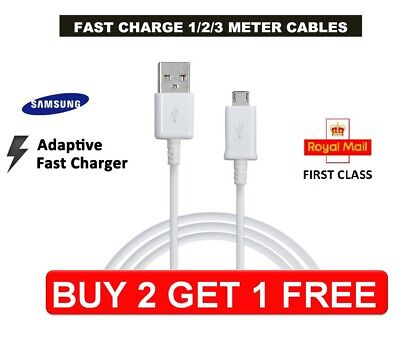 Samsung Fast Charging 1M 2M 3M Fast Charger Micro Data Cable For S3 S4 S5 S6 S7