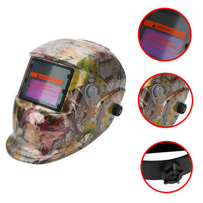 Welding Mask Welding Helmet Solar Energy Automatic Facial Protection Leaves
