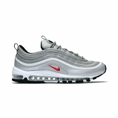 Nike Air Max 97 OG QS Metallic Silver Varsity Red Scarpe Uomo Donna Originals