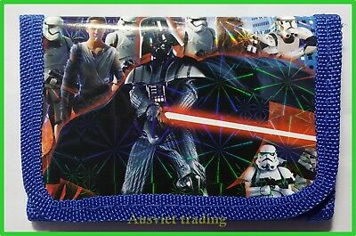 Brandnew Star Wars Wallet kids boys girls coin Purse tri-fold