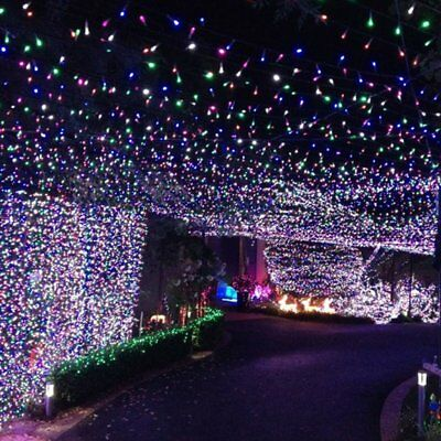 500LED 100M Multi colour Fairy Christmas String Strip Fairy Lights Party Outdoor
