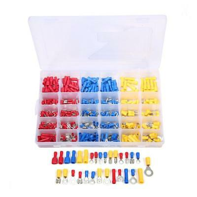 480x Electrical Wire Terminal Set Automotive Insulated Crimp Connector Spade