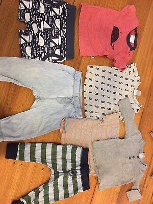 Boy Bulk Bundle Size 0 6-9 Months (7 items)