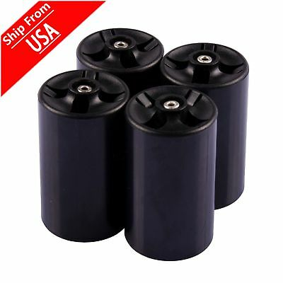 4xNew Cell Battery Adaptor Converter Case AA to D Size Battery Holder Case