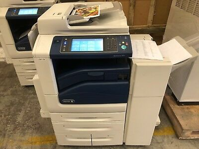 Xerox Workcentre 7830 Full Colour All-In-One Printer With Finisher (98K!)