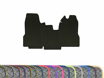 Tailored Heavy Duty 1pc Black 3mm Rubber Floor Mat for Ford Transit MK7 (06-14)
