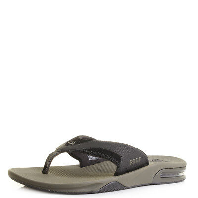 Mens Reef Fanning Dried Herb Toe Post Sandals Flip Flops Sz Size