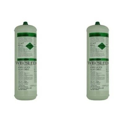 Disposable Gas Bottles Argon or Argon/Co2