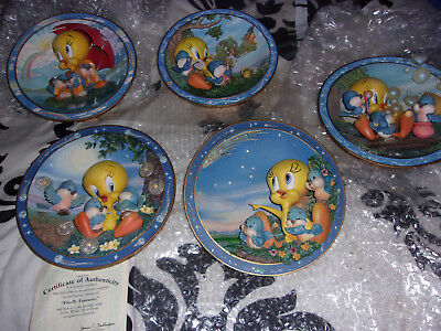 Tweety Collection Plates