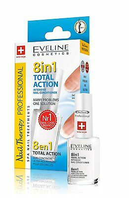 Neu Eveline Cosmetics 8in1 Total Action Nail Conditioner 1er Pack 12 ml