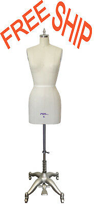 Professional Ladies Fitting Dress Form Mannequinwith Full Set Stand Size: 6
