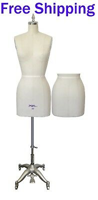 Professional Ladies Fitting Dress Form Mannequin with Full Set Stand Size: 10