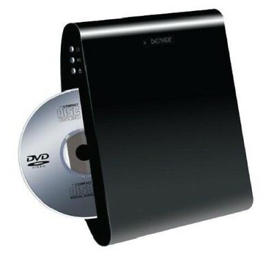 "Denver DWM-100USB DVD-Player (HDMI, USB, Wandmontage) ""wie neu"""