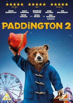 Paddington 2 DVD. Free delivery. New and Sealed