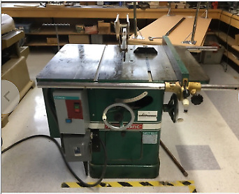 """Powermatic 66 10""""  Woodworking Table Saw"""