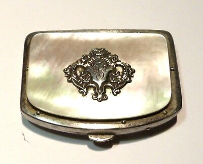 Lovely antique purse or wallet in MOTHER of PEARL Period NAPOLEON III, good cond