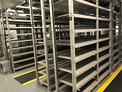 Heavy Duty Floor Standing Open Battery Racking