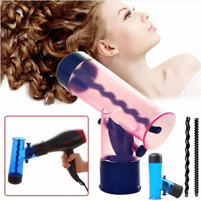 Hair Dryer Diffuser Magic Wind Spin Detachable Curl Hair Diffusers Roller Curler