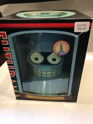 Futurama: The Complete Collection Bender Head 1999-2009 (DVD, 2009, 19-Disc Set)