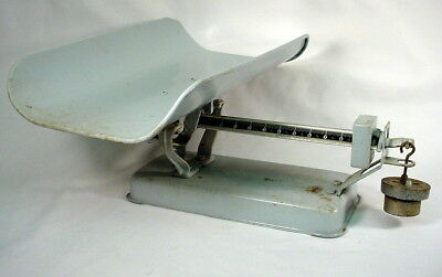 Vintage DETECTO BABY SCALE Beam-type 30 Lb Capacity Large Size Nursery Weight