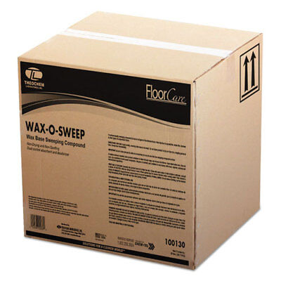 Theochem Laboratories Wax-Based Sweeping Compound Grit-Free 50lbs Box 213050BX
