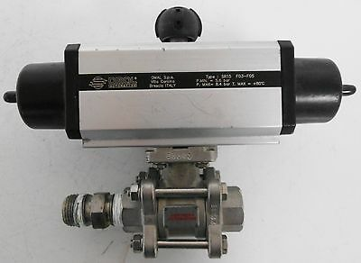 OMAL Automation  SR15 F03-F05 Actuator with DN15-1/2 F03/F04 Valve
