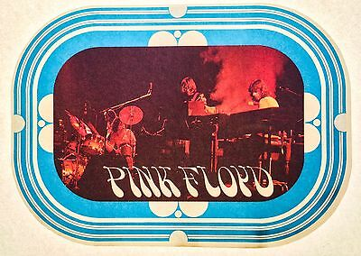 PINK FLOYD early 1970's concert roger waters wall vTg Orig t-shirt iron-on NOS