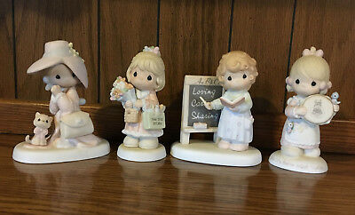 Precious Moments - Lot of 4 original boxes - Special Mom & Members Figurines