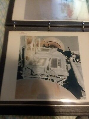 Vintage NASA Red Serial #d  Apollo 15 closeup of engine on Rover