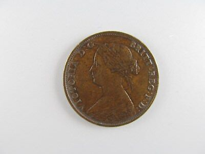 1861 New Brunswick (Canada) One Cent -- SPECTACULAR HIGH GRADE COIN!