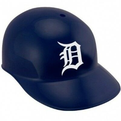 Rawlings Detroit Tigers Navy Blue Replica Batting Helmet. Delivery is Free