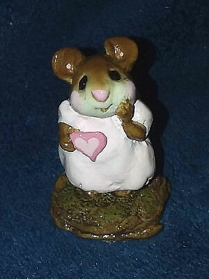 Wee Forest Folk girl SWEETHEART FROM THE HEART Pink