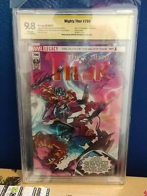 Thor #700 Marvel Cbcs 9.8 Witness Signature Signed By Anthony Hopkins Ultra Rare