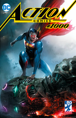 Action Comics #1000 Mattina Variant Dc Comics Superman Milestone Preorder