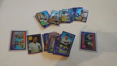 2018 Topps Heritage Chrome Purple Parallel You Pick UPick From List Lot