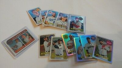 2018 Topps Heritage Base #/999 Chrome Parallel UPick From List Lot