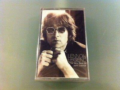 "John Lennon ""legend - The Very Best Of"" Mc K7 Tape Nuova Sigillata New Sealed"