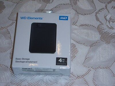 WD 4 TB Elements™ Exclusive Edition, Externe Festplatte, 2.5 Zoll