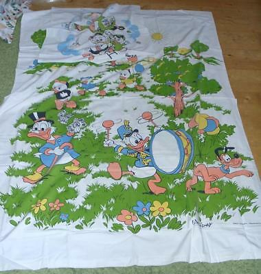 Kinderbettwäsche Disney Mickey Mouse Donald Dagobert Duck Vintage