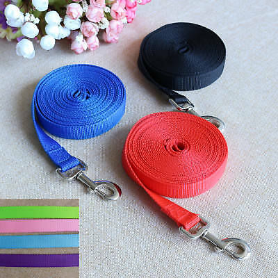 Extra Long Strong Nylon Pet Dog Puppy Slip Training Walking Lead Rope 5/7/10/30M