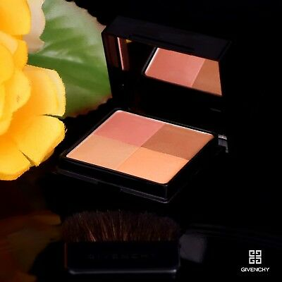 Givenchy Prisme Again Glowing Coral Make Up Palette - Brush & Mirror