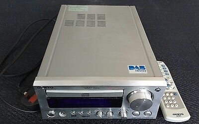 Onkyo CR-505DAB CD player receiver DAB radio amplifier + remote control + aerial