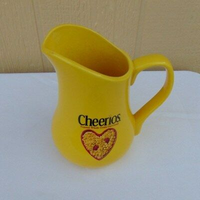 2003 Cheerios Yellow Milk Pitcher