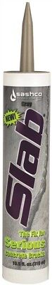 Sashco 1028331 Slab Concrete Crack Repair Sealant, 10.5 Oz., Gray