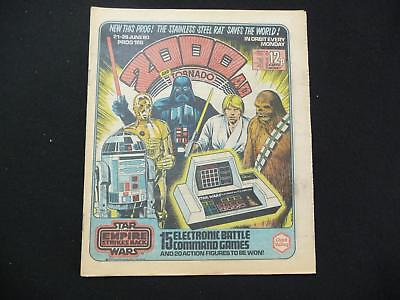Early 2000ad prog 166 comic - Star Wars Empire Strikes Back cover (LOT#3073)