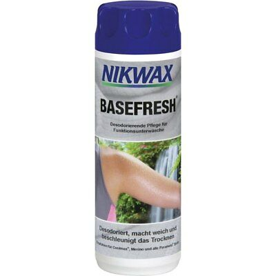 Nikwax basefresh - easy clean - deodorising - stain resistant - 300ml