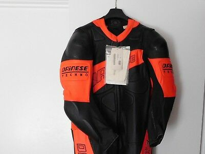 Dainese Techno leather suit size 60