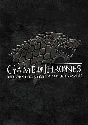 Game Of Thrones: Seasons 1 and 2 (DVD, 2014, 10-Disc Set)