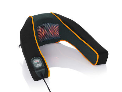 Neck Massager Heated Shoulder Massage Cushion With Heat Travel Home Pain Relief